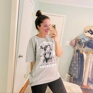 NEW Shadow of the Tomb Raider Gray Tee Game Large